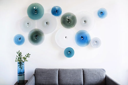 Pool Wallpiece Blue Palette
