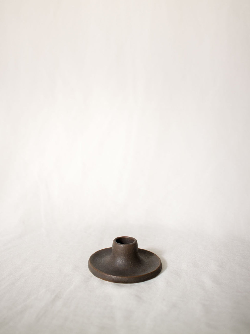 Candlestick holder - aubergine