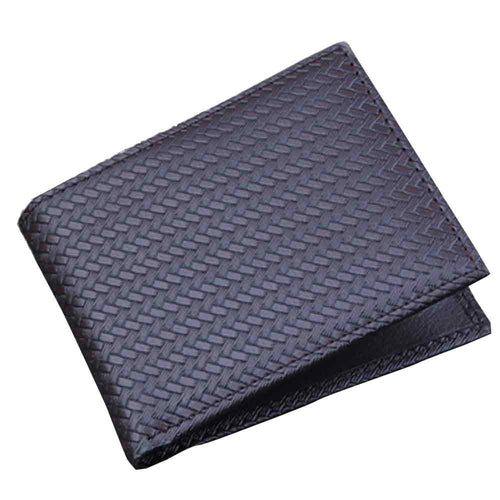 Mens Bifold Business Leather Wallet - KingpinOnline