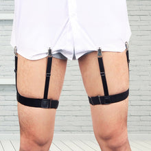 Load image into Gallery viewer, Adjustable Men's Shirt Holding Suspenders - KingpinOnline