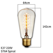 Load image into Gallery viewer, Vintage-Style Edison Filament Light Bulb - KingpinOnline