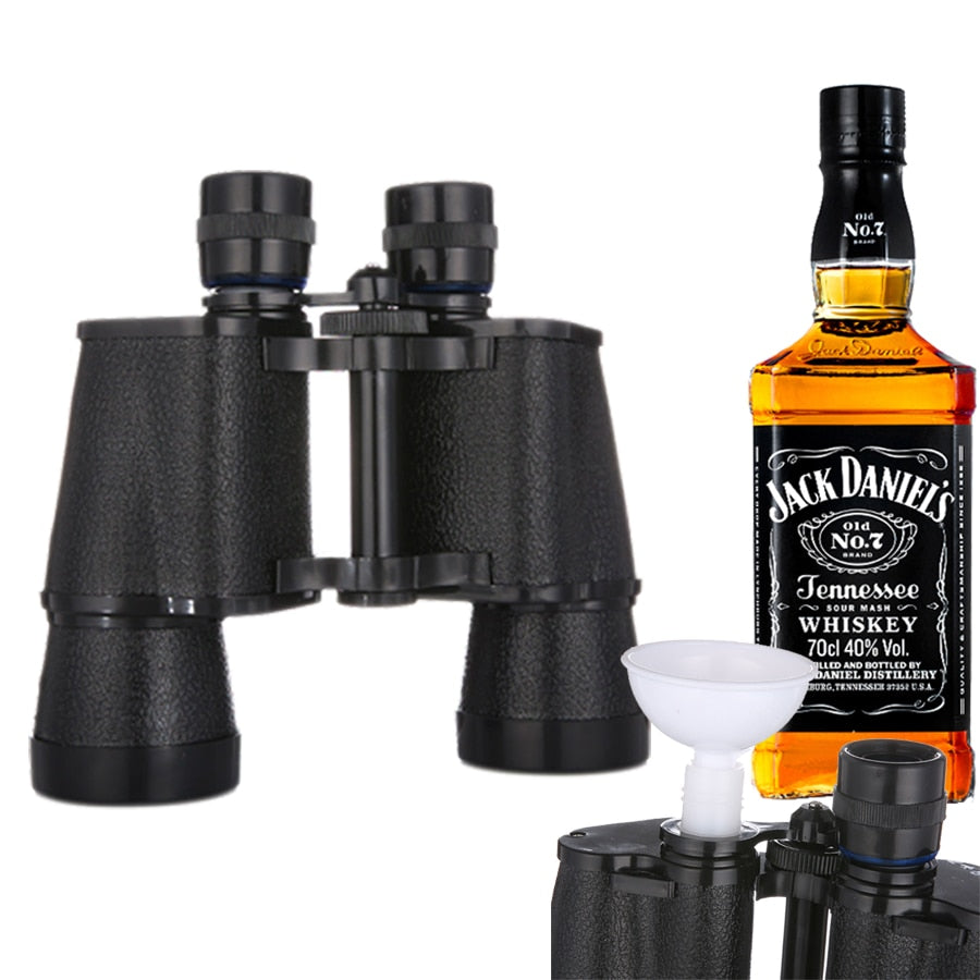 16oz Novelty Binoculars Hip Flask - KingpinOnline