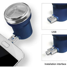 Load image into Gallery viewer, Mini USB Shaver Android Phone Attachment - KingpinOnline