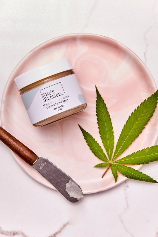 Heal with Lavender CBD Salve