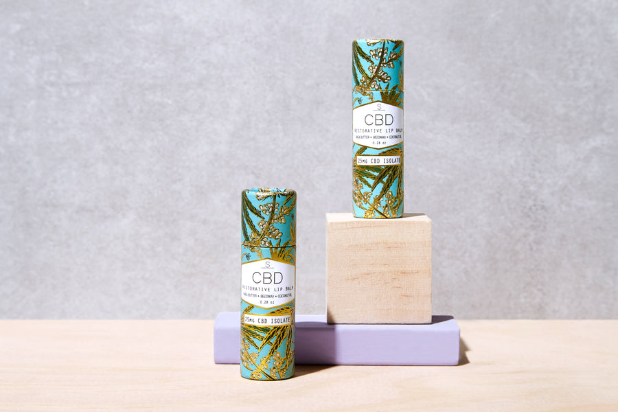 CBD Infused Restorative Lip Balm - She's Blissed