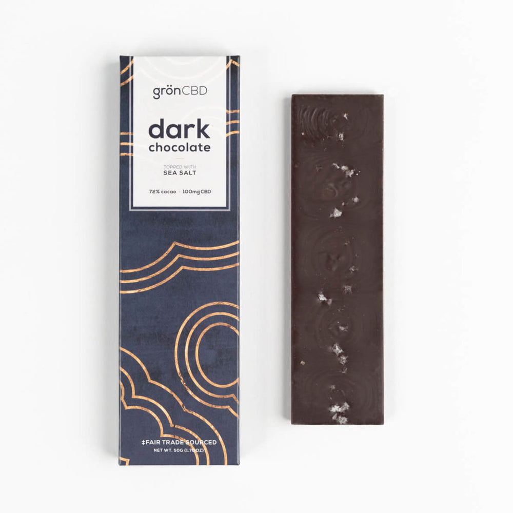 Hemp Infused Dark Chocolate Bar