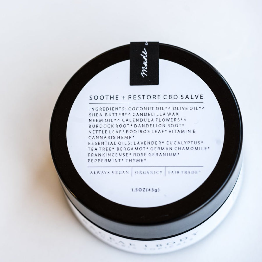 Soothe + Restore CBD Salve - She's Blissed