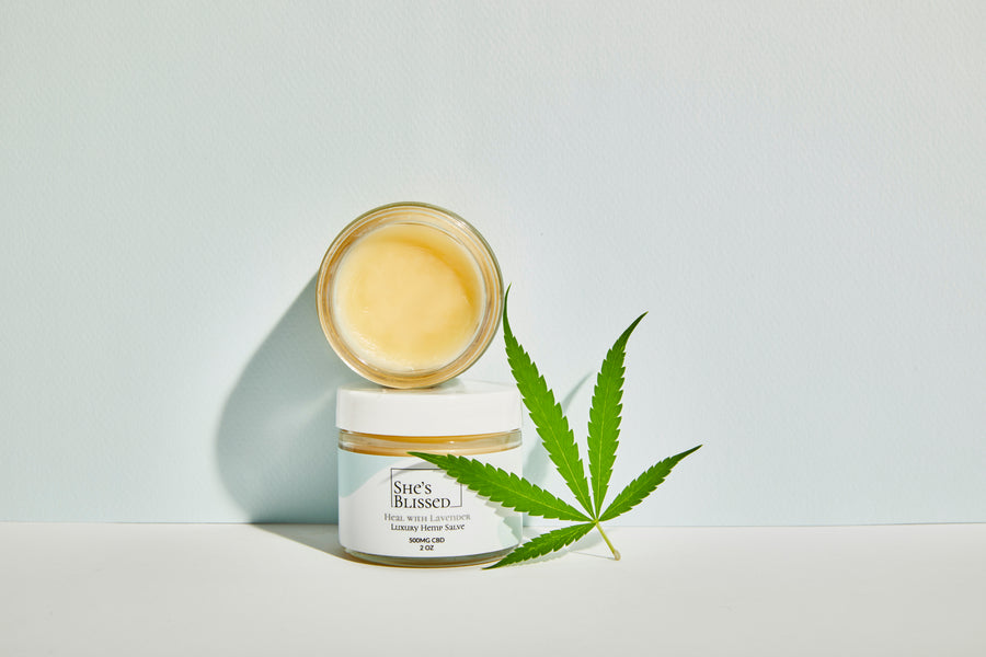 CBD Luxury Hemp Salve | Heal with Lavender - She's Blissed