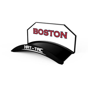 Boston Fitted Hat & Headwear Hanger Mount Stand