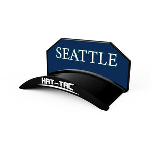 Seattle Fitted Hat & Headwear Hanger Mount Stand