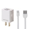 REMAX U-14 USB DATA CABLE & CHARGER IPHONE