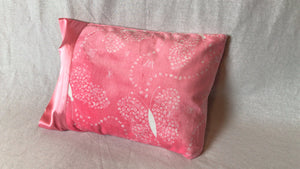 Butterfly Minky Travel Size Pillowcase