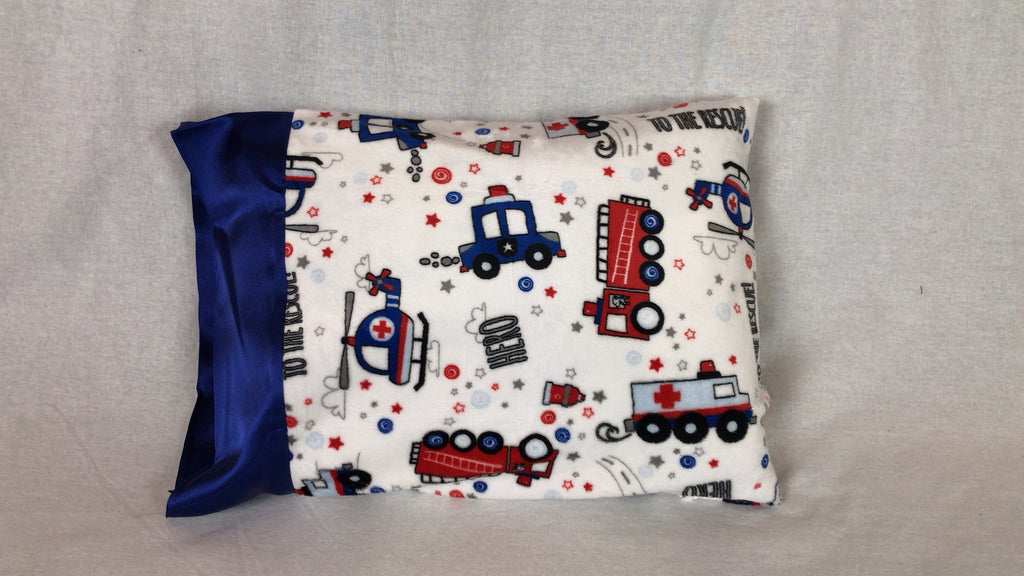 Heroes Minky Travel Size Pillowcase