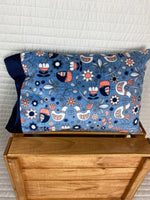 Birdsong Minky Travel Size Pillowcase