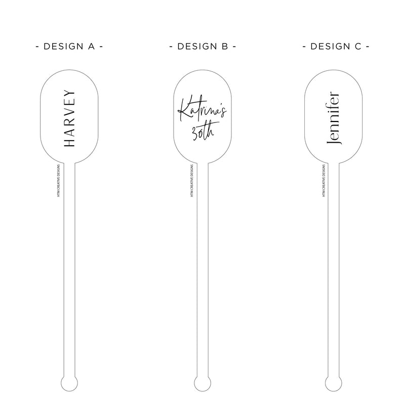 Drink Stirrers - Double Arch