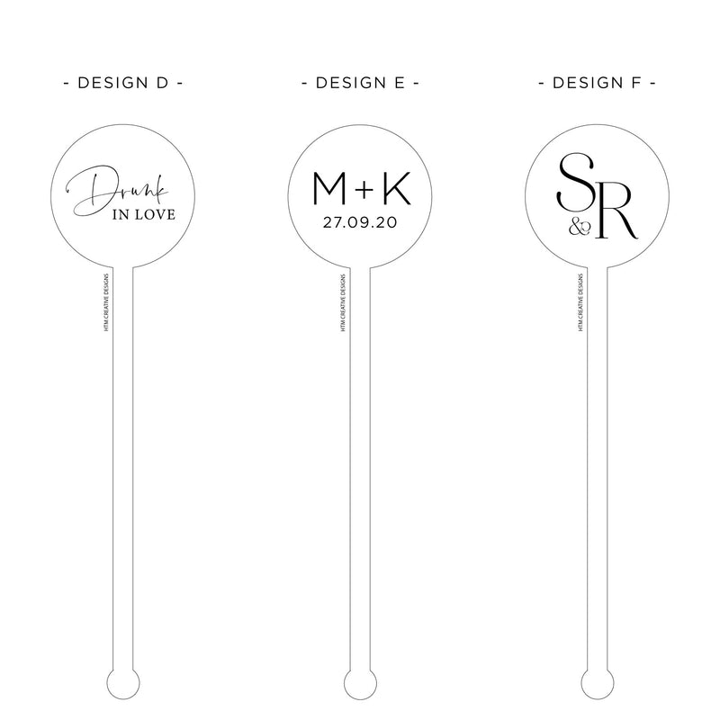 Drink Stirrers - Round