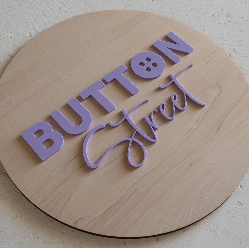 Timber Business Sign / 3D Acrylic Lettering