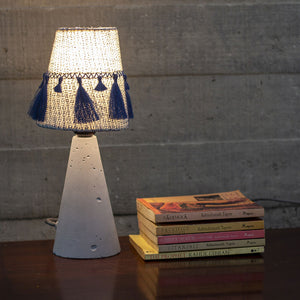 NAVI EMBROIDERED TASSEL TABLE LAMP