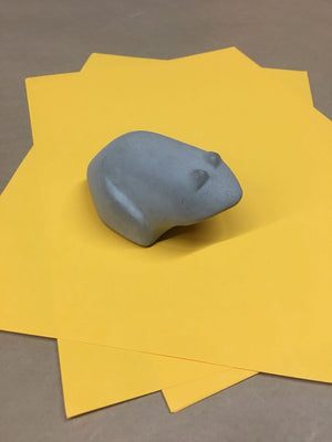 Toad Concrete Paper Weight