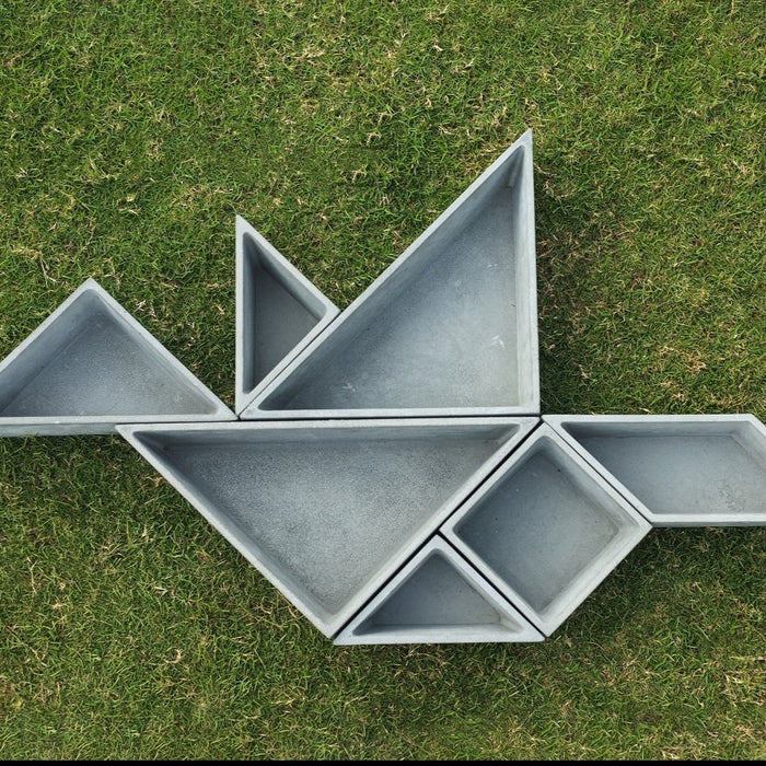 Tangram (planter set)