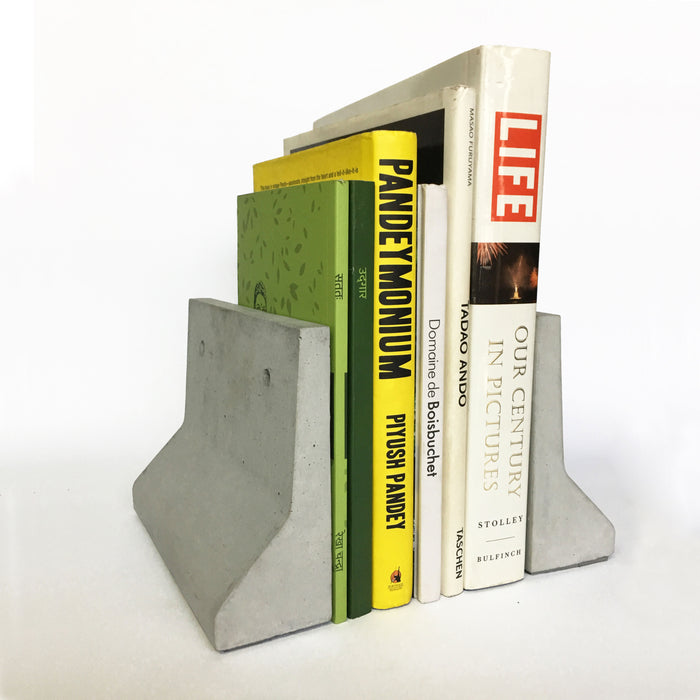 JB Ends Concrete Bookends