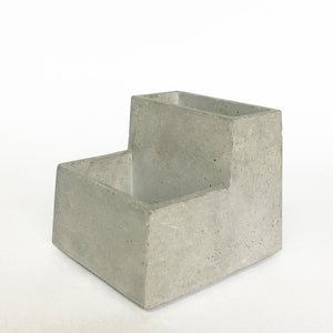 Concrete Stepup Table Planter