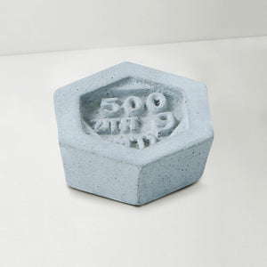 baat concrete paper weight grey