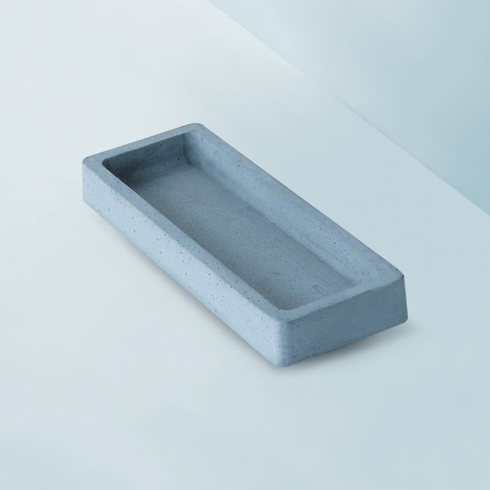 Concrete (S) Rectangular Tray
