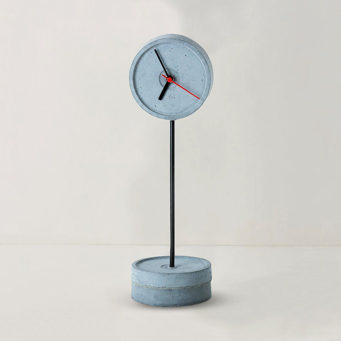 Standing Tall (S) Black Concrete Floor Clock