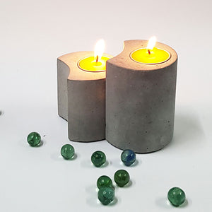 Set of 2 T-Light 02 Candle Holders