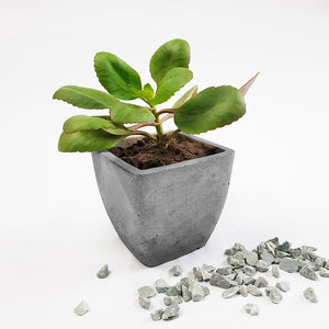 Concrete Small Square Table Planter