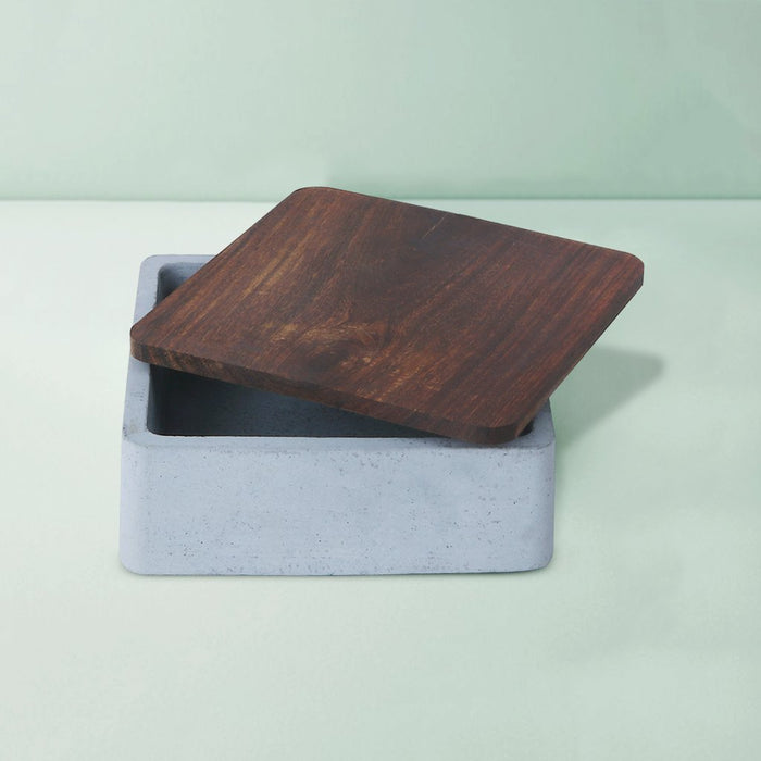 Mesa Concrete Square Tray