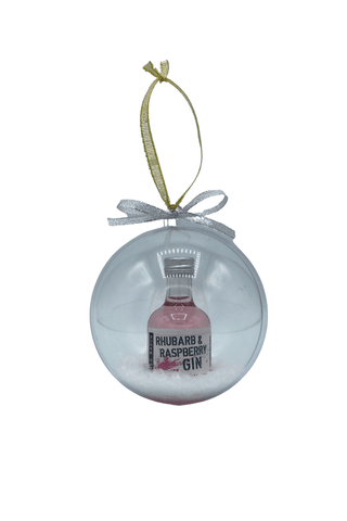 Pink Gin Christmas Bauble (5cl)