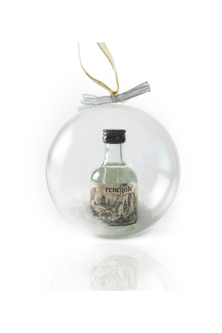 Renegade Gin Christmas Bauble (5cl)