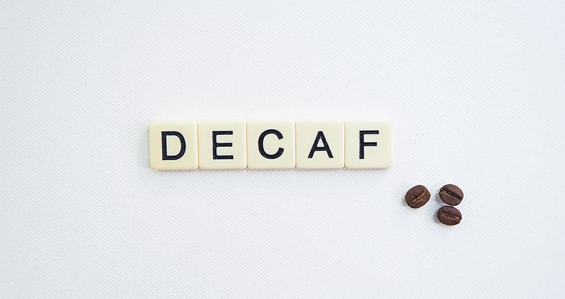 Decaf scrabble tiles - How is decaf coffee made