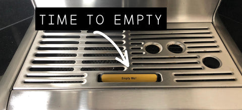 Cleaning the Barista Express drip tray - Empty me