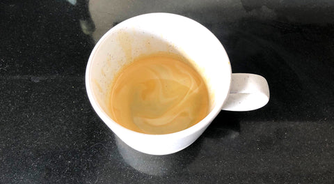 Espresso made from cafetiere