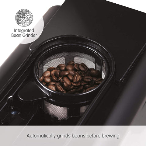 Bean to Cup coffee machine - integrated bean grinder