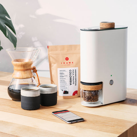 Home Coffee Roaster with Mobile App