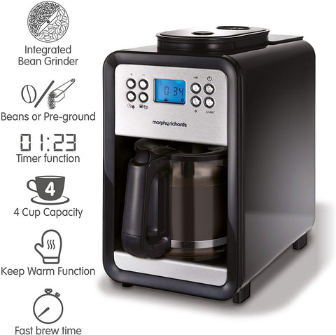 Morphy Richards - Bean to Cup Coffee brewing machine