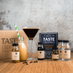 taste cocktails - espresso martini home cocktail kit