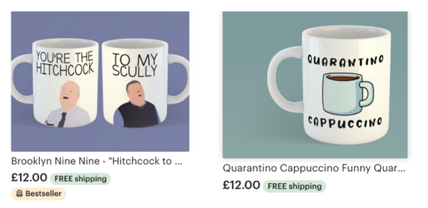 funny coffee mug - brooklyn 99 and funny quarantine saying