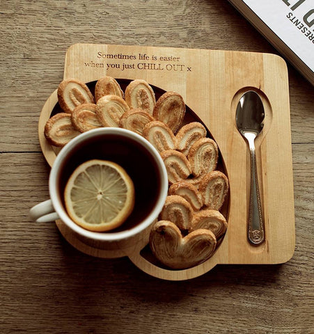 Coffee and Tea serving tray - Personalisable
