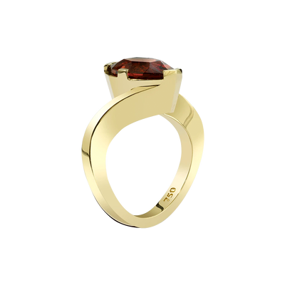 The Source Ring featuring a Rubellite Tourmaline