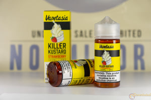 VAPETASIA - Strawberry Killer Kustard