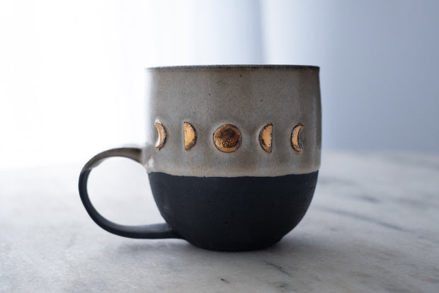 Gold Moon Phase Mug