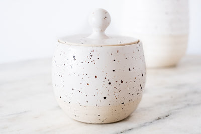 speckled jar