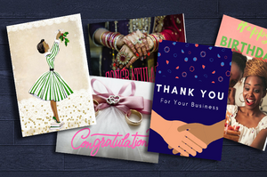 Black-owned startup combines greeting cards with technology and automation