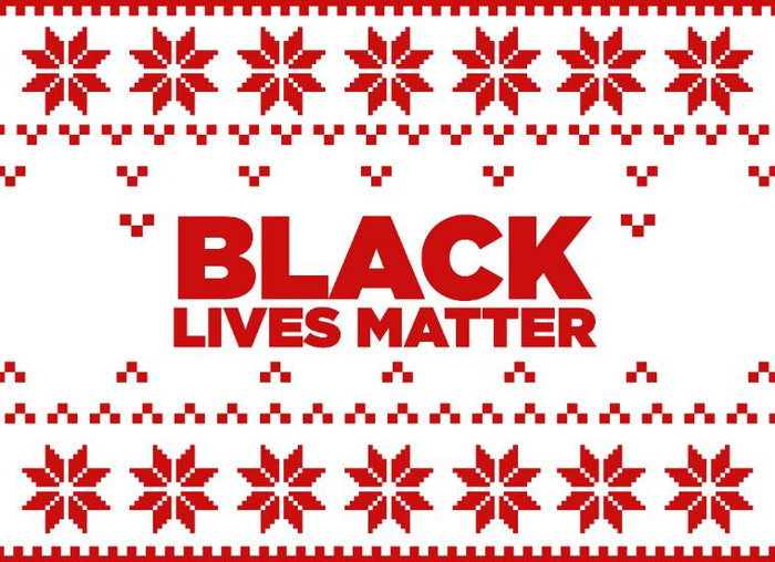 BLM Holiday Sweater