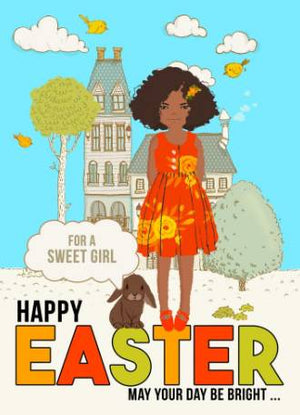 Easter Best - Latino Girl